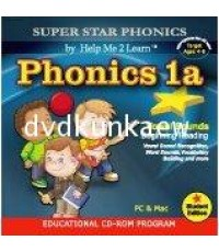 CD-Rom Super Star Phonics 5 disc.