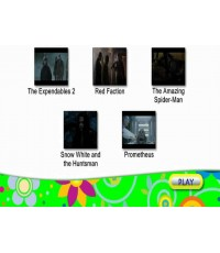 The expendables 2/Red faction/ The amazing spiderman/ Prometheus/ SnowWhite  The huntsman