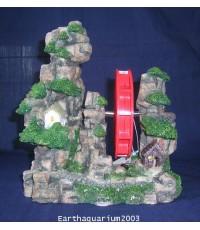 หุ่นจำลอง ภูเขา บ้าน กังหัน