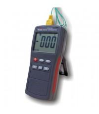 เครื่องวัดอุณหภูมิ เทอร์โมมิเตอร์ Thermometer K type สายโพรบ 2 แชนแนล รุ่น DT811A