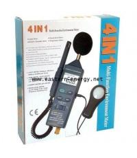 เครื่องวัดอุณหภูมิ-ความชื้น-เสียง-แสง 4in1 Digital Multifunction Meter รุ่น DT-8820 ***ลดล้างสต๊อก