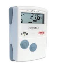 เครื่องวัดและบันทึกอุณหภูมิ Thermometer Datalogger KIMO รุ่น KT100