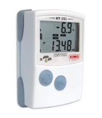 เครื่องวัดและบันทึกอุณหภูมิ Thermometer Datalogger 4 external inputs รุ่น KT200