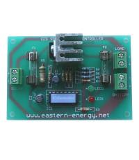ชุดลงปริ้นท์ วงจรควบคุมการชาร์จไฟ ขนาด 12V/1A Solar Charge Controller ชาร์จแบตฯ 12V