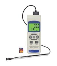 เครื่องวัดความเร็วลม Hot Wire Anemometer SD Card Logger รุ่น 850024