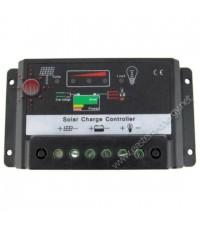 ชุดควบคุมการชาร์จไฟ โซล่าเซลล์ solar charge controller 10A