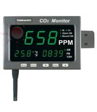 เครื่องวัดก๊าซ CO2, Temperature Datalogger Meter, Tenmars รุ่น TM-186D