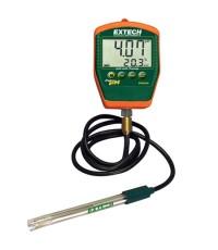 เครื่องวัดกรดด่าง Waterproof Palm pH Meter with Temperature รุ่น PH220-C