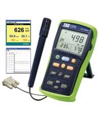 เครื่องวัดก๊าซคาร์บอนไดออกไซด์ บันทึกข้อมูล CO2 METER Datalogger รุ่น TES-1370