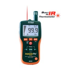 8-in-1 Pinless Moisture Psychrometer + IR with Memory รุ่น MO295