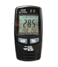 เครื่องบันทึกอุณหภูมิ ความชื้น USB Datalogger w/Type K Dual Thermometer รุ่น DT-172TK