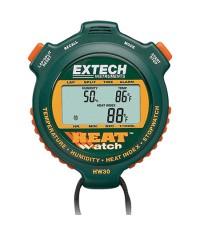 นาฬิกาจับเวลา Stopwatch พร้อม เครื่องวัดอุณหภูมิ ความชื้น รุ่น HW30