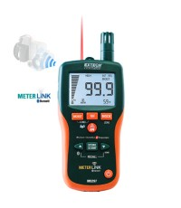 8-in-1 Pinless Moisture Psychrometer with IR Thermometer and Bluetooth METERLiNK™ รุ่น MO297