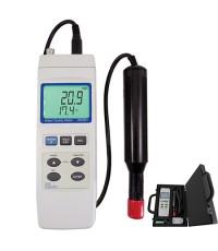 เครื่องวัดคุณภาพน้ำ Dissolved Oxygen Meter Kit (W/pH, Conducitivity, Salinity Probe) รุ่น 850081DOK