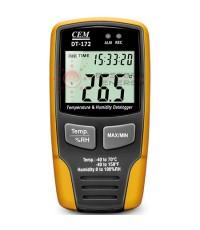 เครื่องบันทึกอุณหภูมิ ความชื้น Humidity-Temperature Datalogger รุ่น DT-172