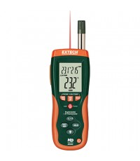 HD500 EXTECH เครื่องวัดอุณหภูมิ Psychrometer with InfraRed Thermometer