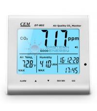 เครื่องวัดก๊าซคาร์บอนไดออกไซด์ Desktop Indoor Air Quality CO2 Monitor รุ่น DT-802