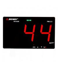 เครื่องวัดค่าฝุ่นละออง PM2.5 Air Quality Monitor Datalogger แบบติดผนัง รุ่น SW-625B