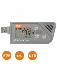 เครื่องบันทึกอุณหภูมิ Temp. USB Datalogger w/PDF report รุ่น 88160