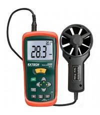 เครื่องวัดความเร็วลม ปริมาตรลม CFM/CMM Thermo-Anemometer รุ่น EXTECH AN100