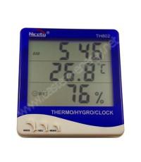 เครื่องวัดอุณหภูมิดิจิตอล และความชื้น รุ่น TH802