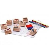 ชุดแสต้มป์ (ชุดใหญ่) - Stamp Set ยี่ห้อ Melissa and Doug