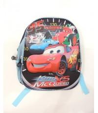 กระเป๋าเด็ก : 3-D Bag กระเป๋าสะพายหลังสีดำ ลาย Cars 3D ตัวนูน ขนาด 29*34*14 ซม.  BG-5704299