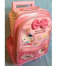 กระเป๋าล้อลาก Kitty ใบกลาง ขนาดเล็ก 11*14*5นิ้ว