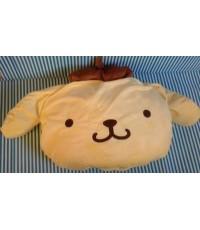 หมอนผ้าห่ม Pompompurin ปอมปอมบุริน ใช้เป็นหมอนหนุน หมอนอิง หรือผ้าห่มได้ เหมาะสำหรับพกพา