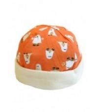 หมวกเด็กอ่อนแบบกลมลายน่ารัก ผ้าเนื้อนิ่ม cotton แท้ไม่ระคายผิวลูกรักนะคะ