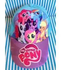 หมวกแก๊ป ม้าน้อย โพนี่ (My Little Pony)  ขนาดรอบหมวก 21นิ้ว