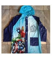 ลิขสิทธิ์แท้ เสื้อกันฝน ลาย อเวนเจอร์ Avenger (Captain America กัปตัน อเมริกา)
