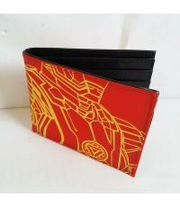 กระเป๋าสตางค์หนัง ลาย อเวนเจอร์ Avengers (ไอร่อนแมน iron man) ขนาด 4.5x3.5 นิ้ว