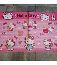 กระดาษห่อของขวัญ ลาย คิตตี้ Kitty ขนาด 30x20.5 นิ้ว แพ็คละ 10 แผ่นคะ