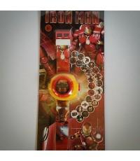 นาฬิกา Digital ส่องเลเซอร์รูป อเวนเจอร์ (Avengers) ไอร่อนแมน ironmanได้ 20 รูปค่ะ