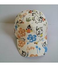 หมวกแก๊ป มูมิน Moomin ด้านหลัง ขยายได้นิดหน่อยค่ะ ขนาดรอบหมวก 23 นิ้ว สำหรับเด็กโต ผู้ใหญ่ใส่ได้คะ
