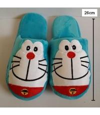 รองเท้าอยู่บ้าน ลาย Doraemon โดเรม่อน ขนาด 26ซม.พื้นรองเท้า เป็นยาง