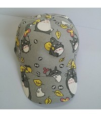 หมวกแก๊ป โตโตโร่ (Totoro) ด้านหลัง ขยายได้นิดหน่อยค่ะ ขนาดรอบหมวก 23 นิ้ว สำหรับเด็กโต ผู้ใหญ่ใส่ได้