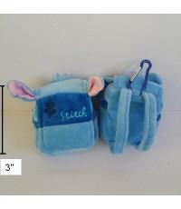 กระเป๋าเหรียญ หรือจะใส่หูฟังก็ได้คะ มีขอเกี่ยว ด้านหลังมีสายเป้ สอดกับเข็มขัดได้คะ ลาย สติช Stitch ข