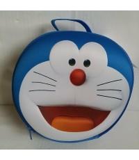 กระเป๋าถือ ใส่เครื่องสำอาง ของกระจุ๊กกระจิ๊ก ก็ได้ค่ะ ลาย โดราเอม่อน Doraemon ขนาด 8.5x8.5 นิ้ว