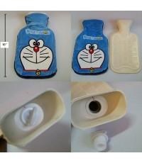 ถุงน้ำร้อน ด้านนอกถอดซักได้คะ ลาย โดราเอม่อน Doraemon ขนาดถุง 6x10 นิ้ว