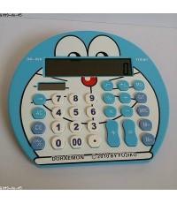 โดเรม่อน Doraemon เครื่องคิดเลข ขนาด 7.5x6.5 นิ้ว หน้าจอ 12 digit