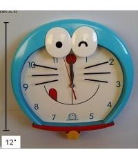 นาฬิกาแขวน สำหรับติดกำแพงห้องค่ะ ขนาด เส้าผ่าศูนย์กลาง 12 นิ้ว ลาย โดเรม่อน (Doraemon)