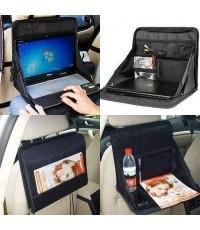 อุปกรณ์ แต่งรถ ที่วางของ สำหรับ วางโน๊ตบุ๊ก tablet สมุด หนังสือ แก้วน้ำ อื่น ๆ ขนาด 14x12x12 นิ้ว