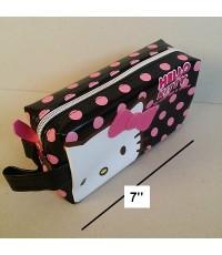 กล่องดินสอ สี่เหลี่ยม คิตตี้ Kitty ขนาด 7x4x2.5 นิ้ว