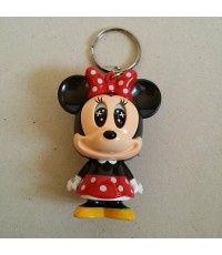 พวงกุญแจ เปลี่ยนตาได้ (กดหางเพื่อเปลี่ยนตา) ลาย Minnie mouse มินนี่เม้าส์