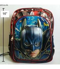 เป้ แบทแมน Batman ตัวแบดแมน ด้านหน้านูนขึ้นมาค่ะ ค่ะ ขนาด 12x15.5x4นิ้ว