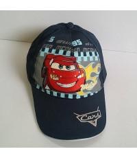 หมวกแก๊ป car Mcqueen คาร์ ด้านหลังเมนเมจิกเทปปรับขนาดได้ค่ะ