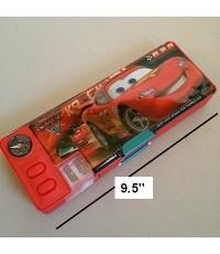 คลิ้กที่รูปเพื่อดูมุมอื่นค่ะ รหัส: G079-car-15 กล่องดินสอแม่เหล็ก เปิดได้ 2 ด้าน มีเหลากบในตัว Car