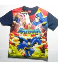 เสื้อผ้ามันลายการ์ตูน Batman